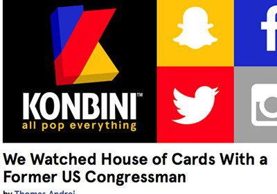 House of Cards : Commentary